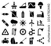 energy icons. set of 25... | Shutterstock .eps vector #1014782440