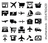 commercial icons. set of 25... | Shutterstock .eps vector #1014782620