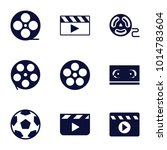 cinematography icons. set of 9...   Shutterstock .eps vector #1014783604