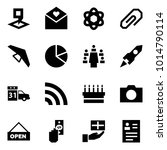 origami style icon set   map... | Shutterstock .eps vector #1014790114