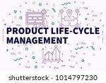 conceptual business... | Shutterstock . vector #1014797230