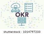 conceptual business... | Shutterstock . vector #1014797233