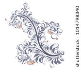 patterns. russian ornament ... | Shutterstock .eps vector #1014798340