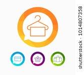 hypermarket and trade vector... | Shutterstock .eps vector #1014807358