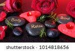 spa concept in valentine's day  ...   Shutterstock . vector #1014818656