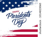 happy presidents day greeting... | Shutterstock .eps vector #1014823060