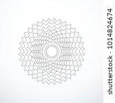 vector bike cassette isolated | Shutterstock .eps vector #1014824674