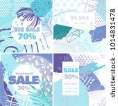 fashion sale and special offer... | Shutterstock .eps vector #1014831478