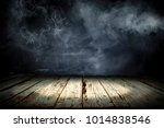 table background of free space... | Shutterstock . vector #1014838546
