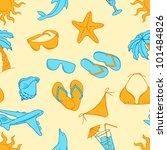 travel background. seamless... | Shutterstock .eps vector #101484826