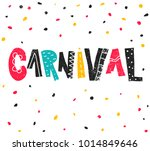 popular event brazil carnival.... | Shutterstock .eps vector #1014849646