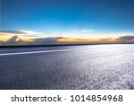 empty road with panoramic... | Shutterstock . vector #1014854968