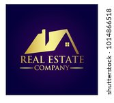 real estate property company... | Shutterstock .eps vector #1014866518