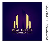 real estate property company... | Shutterstock .eps vector #1014867490