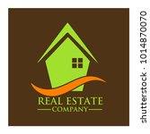 real estate property company... | Shutterstock .eps vector #1014870070