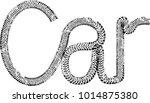 vector print textured tire... | Shutterstock .eps vector #1014875380