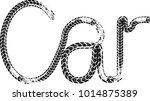 vector print textured tire... | Shutterstock .eps vector #1014875389