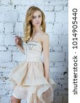 young beautiful woman in... | Shutterstock . vector #1014905440