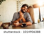 portrait of a beautiful couple... | Shutterstock . vector #1014906388