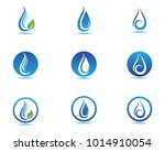 water nature logo and symbols... | Shutterstock .eps vector #1014910054