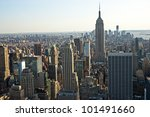 manhattan  new york city. usa. | Shutterstock . vector #101491660