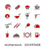 food icons   set 2 of 2   ... | Shutterstock .eps vector #101495608