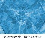 blue color toned monochrome... | Shutterstock . vector #1014957583