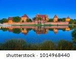 malbork castle of the teutonic... | Shutterstock . vector #1014968440
