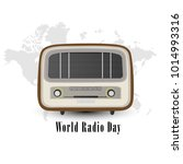 world radio day | Shutterstock .eps vector #1014993316