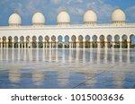 white pillars and their...   Shutterstock . vector #1015003636