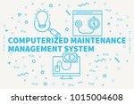 conceptual business...   Shutterstock . vector #1015004608