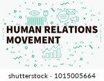 conceptual business... | Shutterstock . vector #1015005664