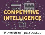 conceptual business... | Shutterstock . vector #1015006630