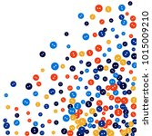 vector confetti background... | Shutterstock .eps vector #1015009210