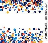 vector confetti background... | Shutterstock .eps vector #1015009660