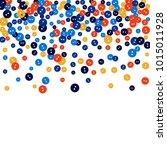 vector confetti background... | Shutterstock .eps vector #1015011928