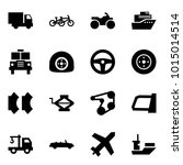 origami style icon set   car... | Shutterstock .eps vector #1015014514