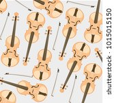 decorative pattern from music...   Shutterstock .eps vector #1015015150