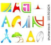 illustration of set of... | Shutterstock .eps vector #101501824
