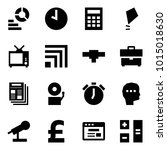 origami style icon set  ... | Shutterstock .eps vector #1015018630