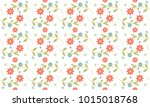 nature and flower seamless... | Shutterstock .eps vector #1015018768