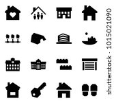origami style icon set   family ... | Shutterstock .eps vector #1015021090