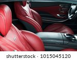 modern luxury car inside.... | Shutterstock . vector #1015045120