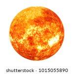 Sun Solar System Isolated ...