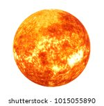 sun solar system isolated ...   Shutterstock . vector #1015055890