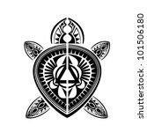 maori   polynesian style tattoo ...   Shutterstock . vector #101506180