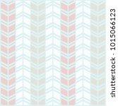 pastel geometric pattern.... | Shutterstock .eps vector #1015066123
