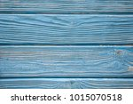 natural blue turquoise wooden... | Shutterstock . vector #1015070518