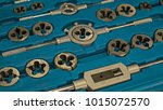 Small photo of screw tap and screw threading die set