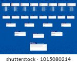 tournament schedule  football... | Shutterstock .eps vector #1015080214